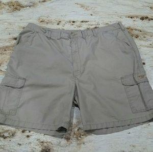 Men's Khaki Cargo Shorts by Wrangler Size 48